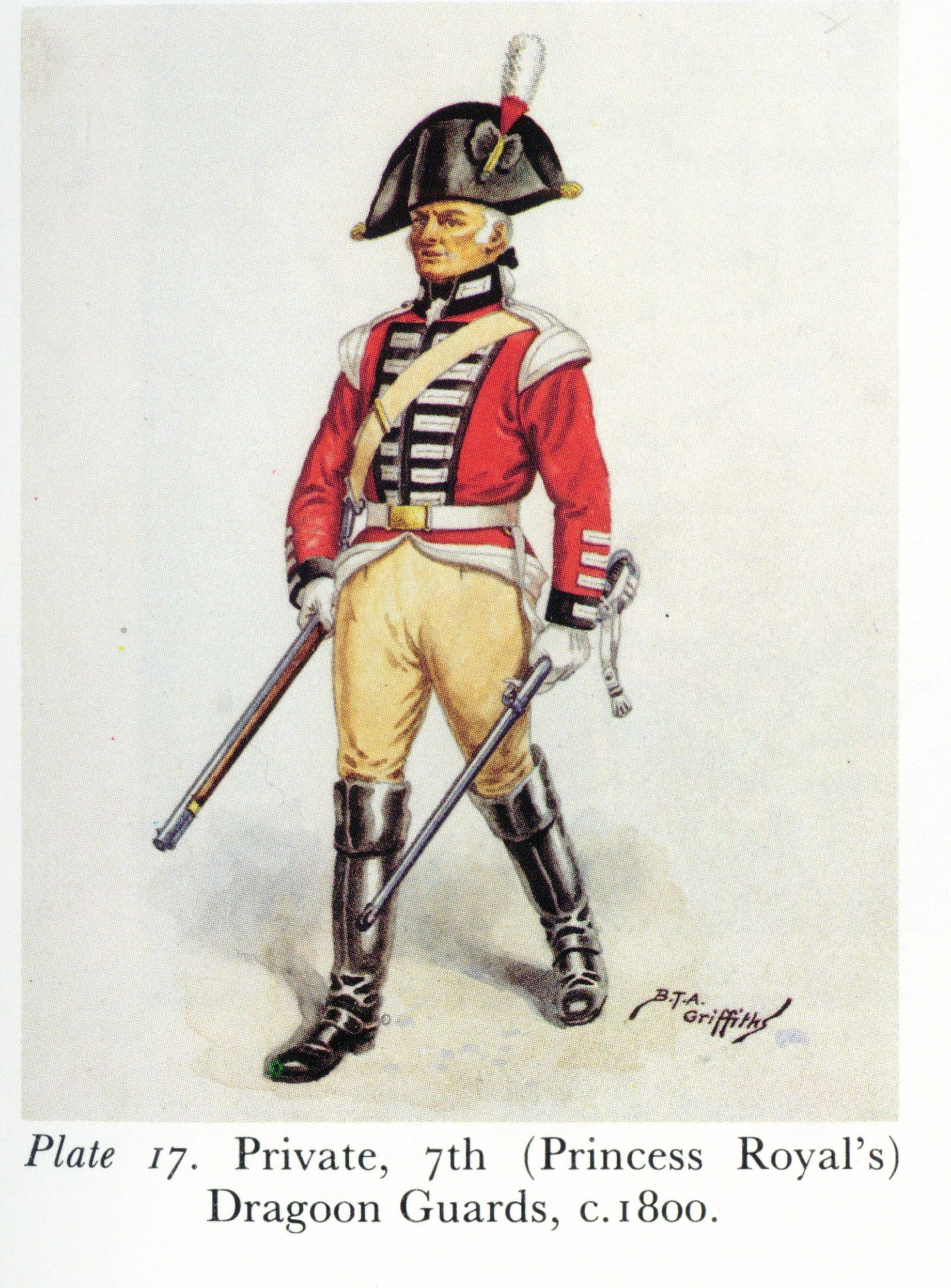 Private, 7th Dragoon Guards