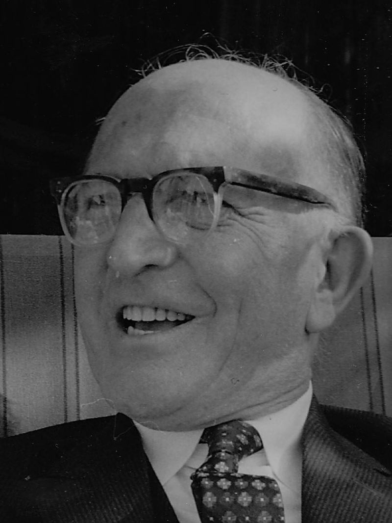 Photo of Frederick Charles Buist about 1960