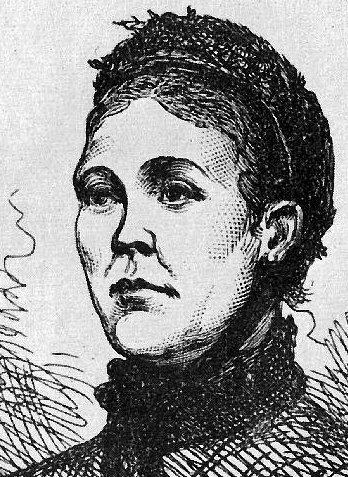 Contemporary drawing of Catherine Eddowes